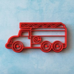 Fireman truck cookie cutter