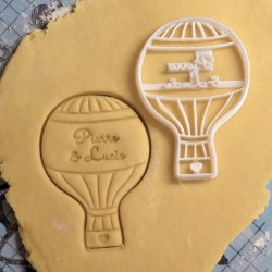 Custom AirBalloon Cookie cutter