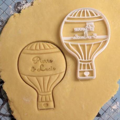 Custom AirBalloon Cookie cutter