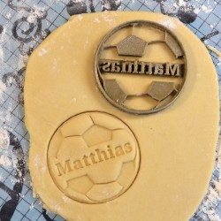 Custom Soccer ball - Foot ball Cookie cutter