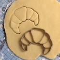 Croissant cookie cutter