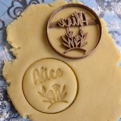 Custom flower cookie cutter