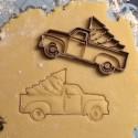 Emporte-pièce Camion de Noël avec Sapin