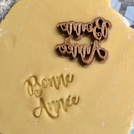 Bonne Année Cookie Stamp