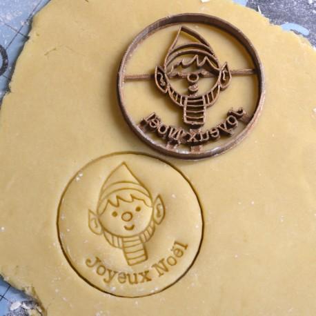 Elf cookie cutter