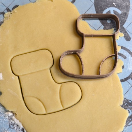Christmas stocking cookie cutter