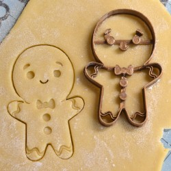 Gingerbread Man cookie cutter V2