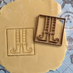 Elf cookie cutter - Square