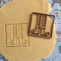 Elf cookie cutter - Square