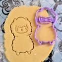 Lama Cookie cutter V2