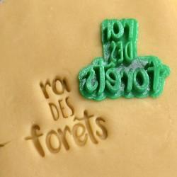 Roi des Forêts Cookie Stamp