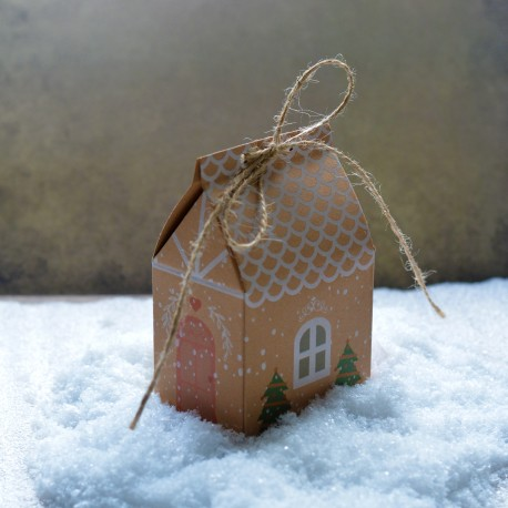 Paper candy box - tiny House