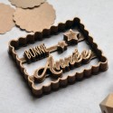 "Petit Beurre ""Bonne année"" cookie cutter with stars"