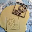 Bonne année cookie cutter - Clock