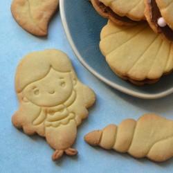 Mermaid cookie cutter