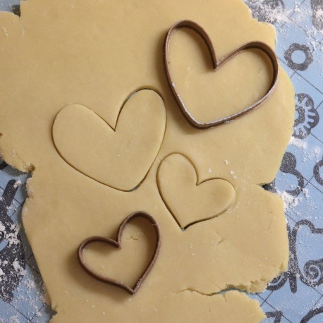 Heart cookie cutter - Set of 2