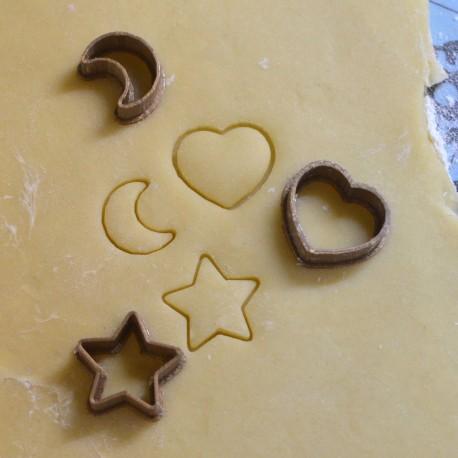 Mini cookie cutter - Set of 3