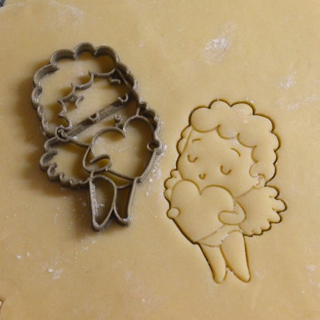 Cupid cookie cutter - Heart