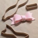 Ribbon knot fondant cookie cutter