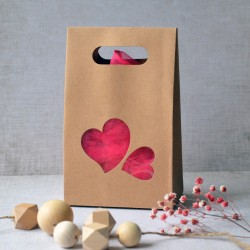Paper candy box - Hearts
