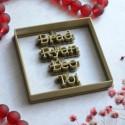 Brad Ryan Leo cookie cutter - Square