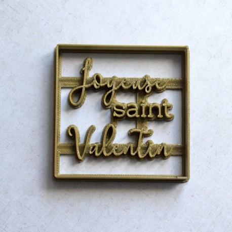 Emporte-pièce Joyeuse Saint Valentin