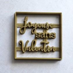 Emporte-pièce Joyeuse SANS Valentin