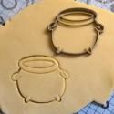 Caldron cookie cutter