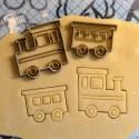 Train cookie cutter