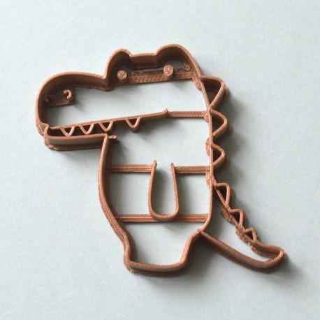 Crocodile cookie cutter