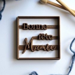 Emporte-pièce Bonne fête Mamie