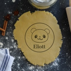 Custom Panda cookie cutter