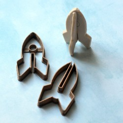 Space Rocket cookie cutter 3D