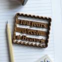 Emporte-pièce Petit Beurre 100ème jour d'école