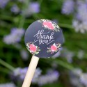 Roses Thank you Stickers