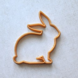 Rabbit Silhouette cookie cutter