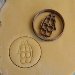 Ballerina shoes - ballet cookie cutter