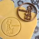 Custom giraffe cookie cutter