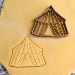 Circus cookie cutter