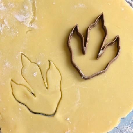 Dinosaur paw cookie cutter