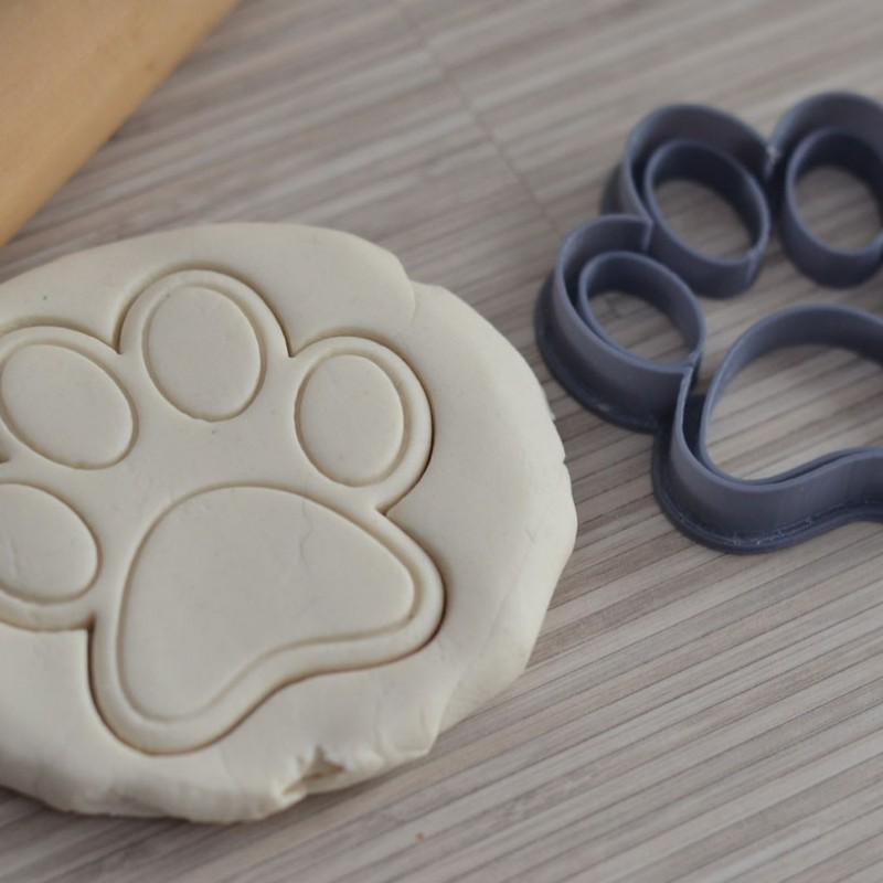 Dog Paw Cookie Cutter La Bo 238 Te 224 Cookies