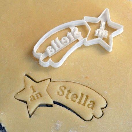 Custom Shooting Star cookie cutter