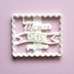 Emporte-pièce Petit Beurre Maman Chérie