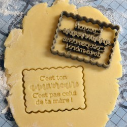 Petit Beurre Birthday cookie cutter