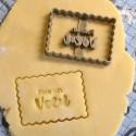 Fais un voeu Birthday cookie cutter - Make a wish