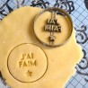 J'ai faim cookie cutter