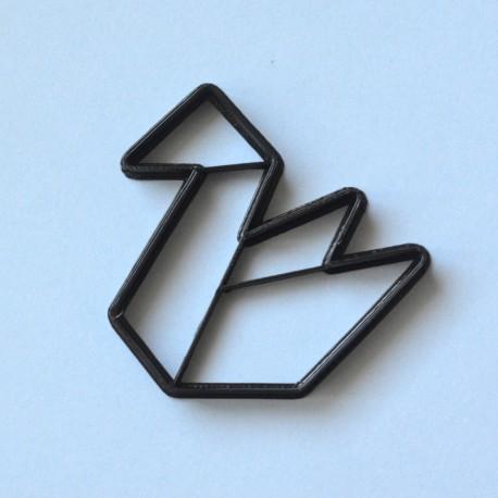 Emporte-pièce Origami Cygne