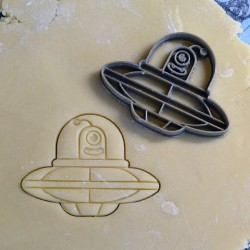 Alien cookie cutter - UFO cookie cutter