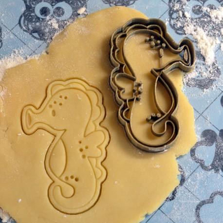Sea horse cookie cutter