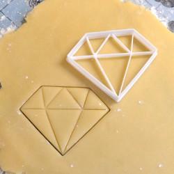 Diamond cookie cutter XL